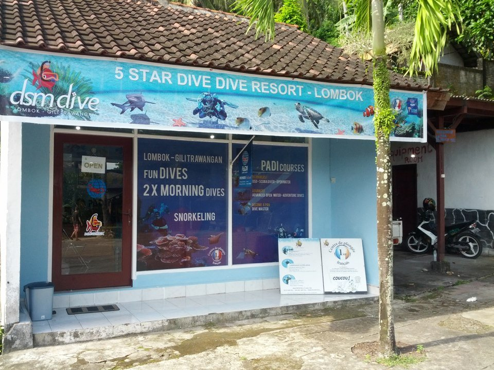 dive shop Puri Bunga