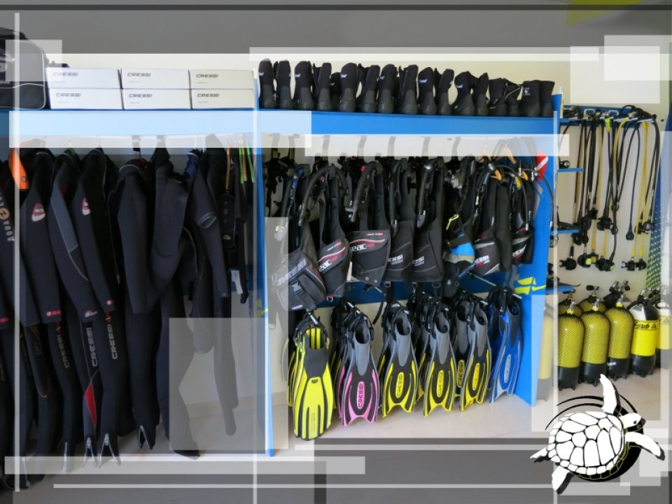 Diving Tortuga- Rental Gear - Shop
