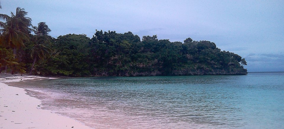 Our secluded private beach