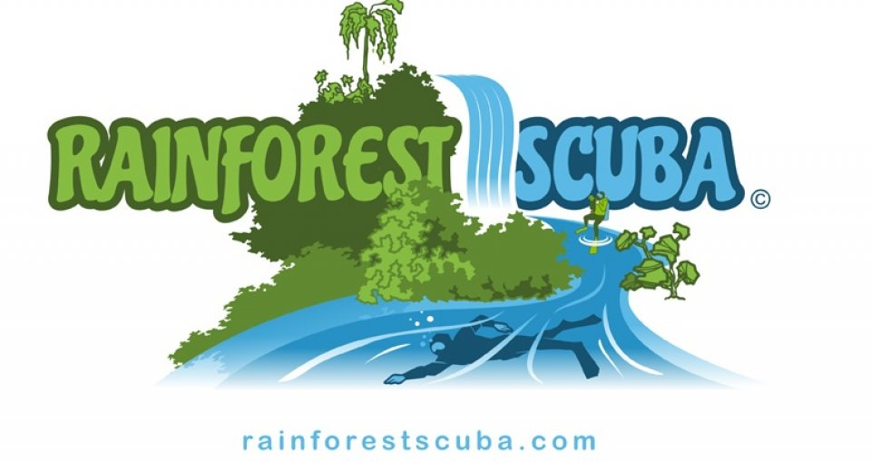 Rainforest Scuba logo
