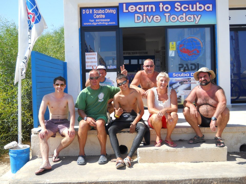 Dive centre in Protaras