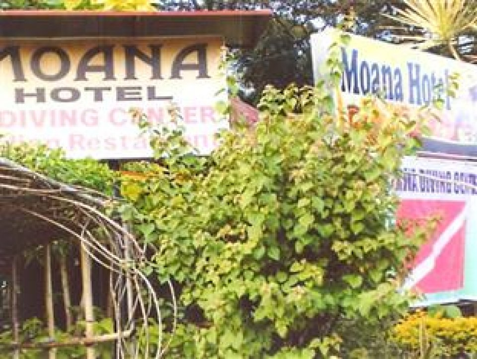 Moana dive center