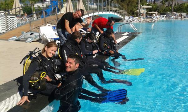Discover Scuba Diving with the family