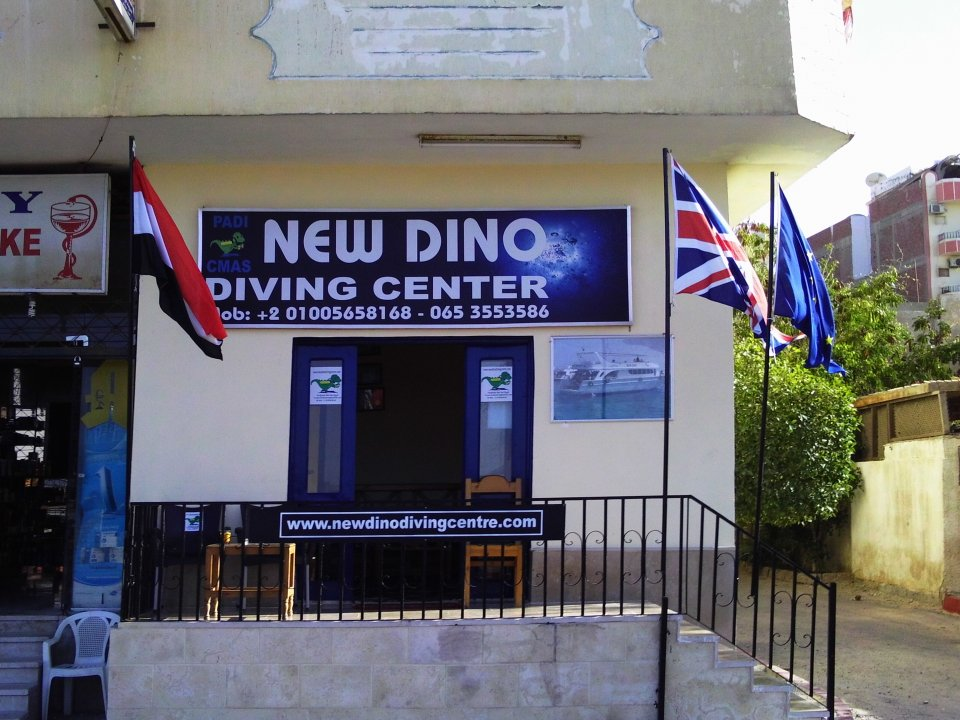 New dino diving centre dive center in hurghada for Dive centres