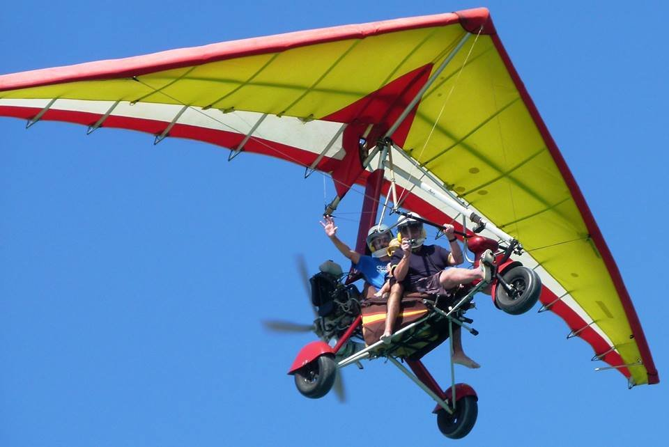 Microlight Flights with Sand and Sea Water Sports