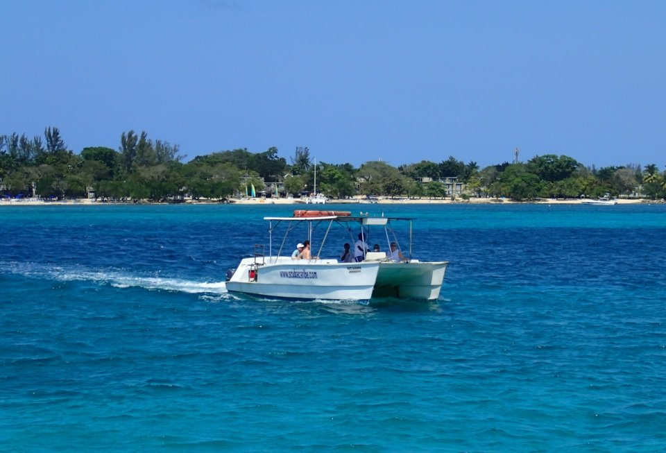 ScubaCaribe boat in Negril