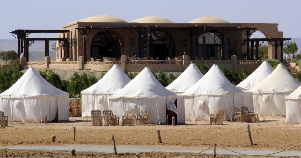 Tents and Restaurant at Marsa Nakari Village