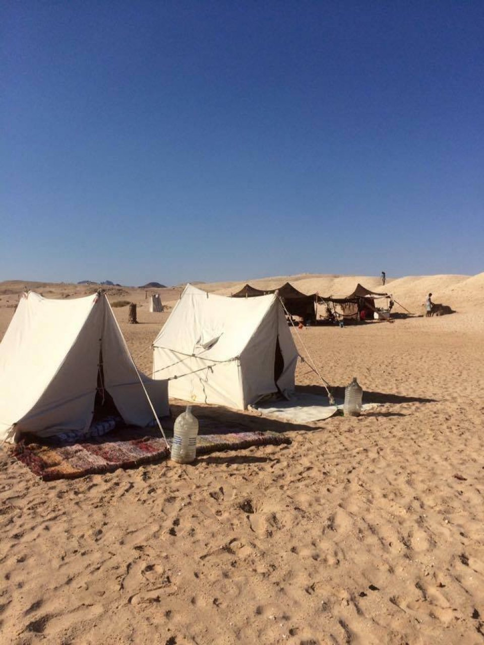 Camping and diving at Ras Mohammed