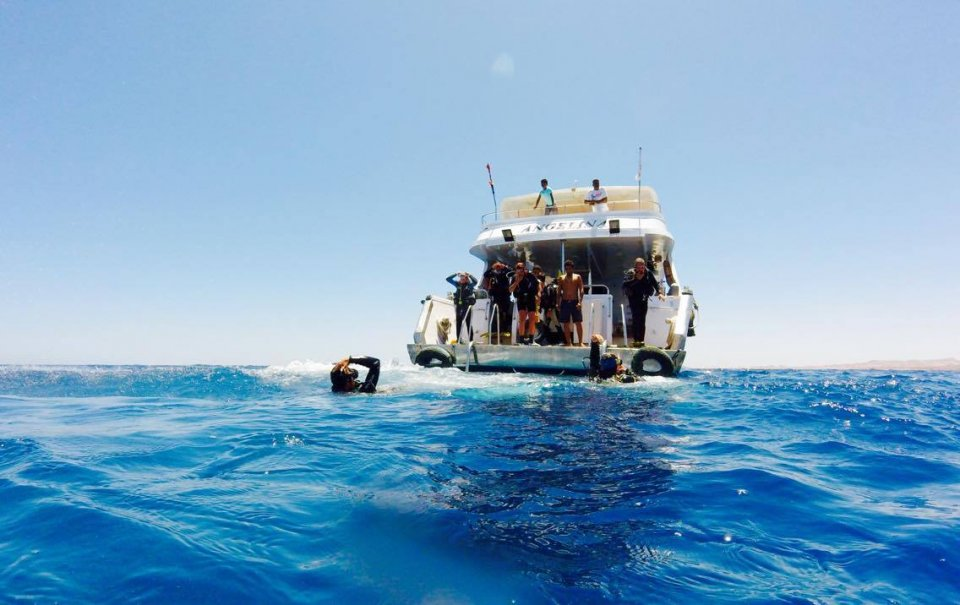 Boat diving, Sharm el sheikh, Red Sea!!