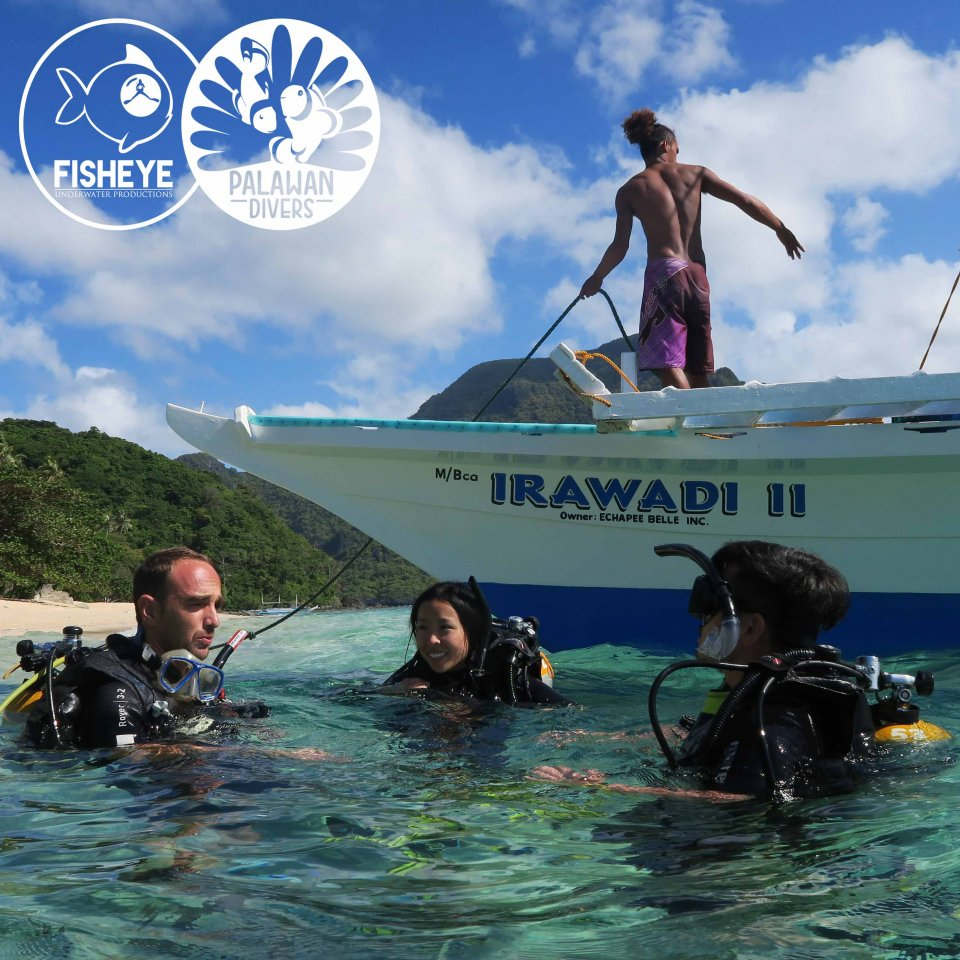Open Water Course with Palawan Divers