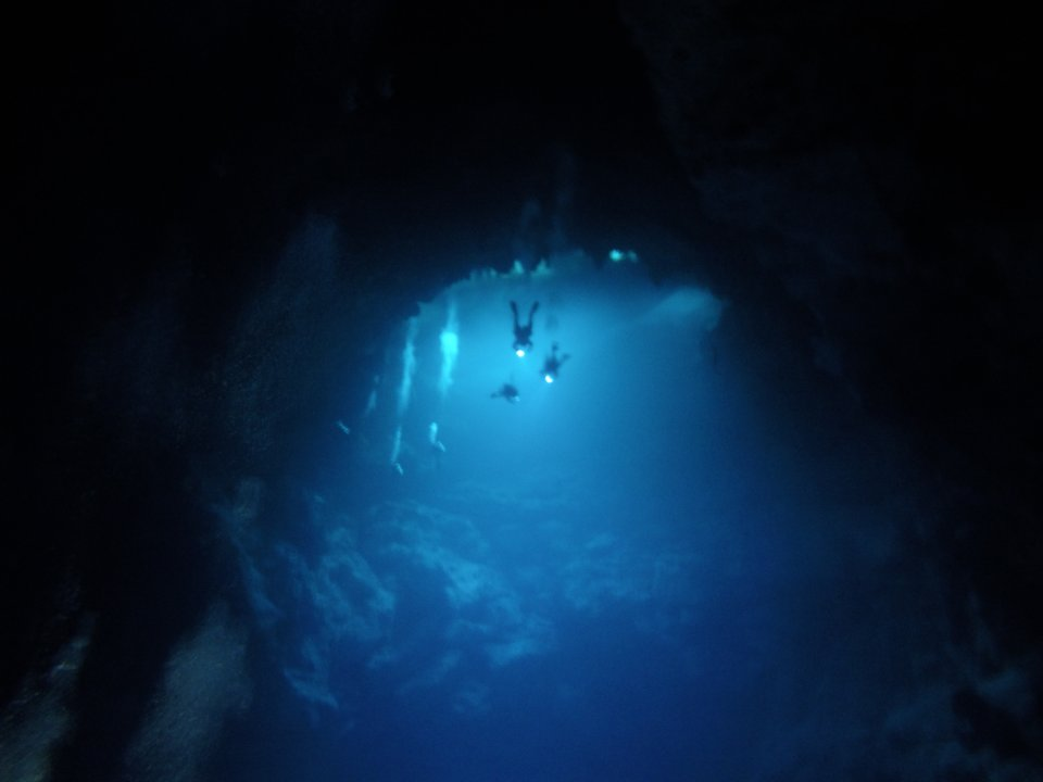 Scuba diving - cave tour - Koox Diving, Playa del Carmen, Mexico