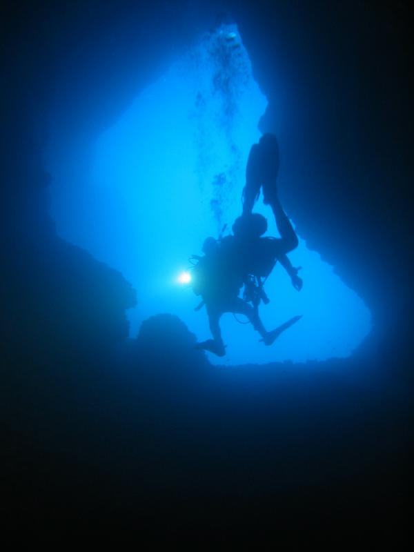 Canyon dive