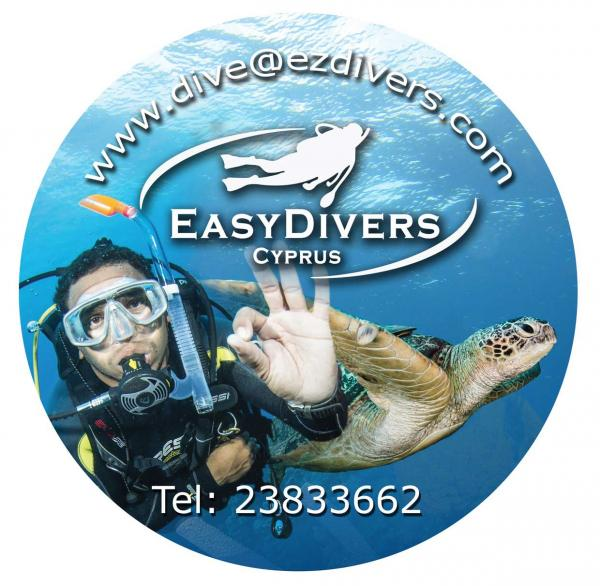 Easy Divers Cyprus Logo