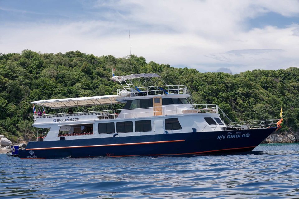 M/V Sirolo - Day Trip Dive Center and Diving Vessel in Phuket