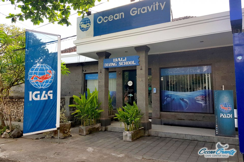 Our dive center in Sanur