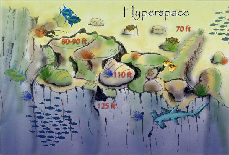 Hyperspace Briefing Map