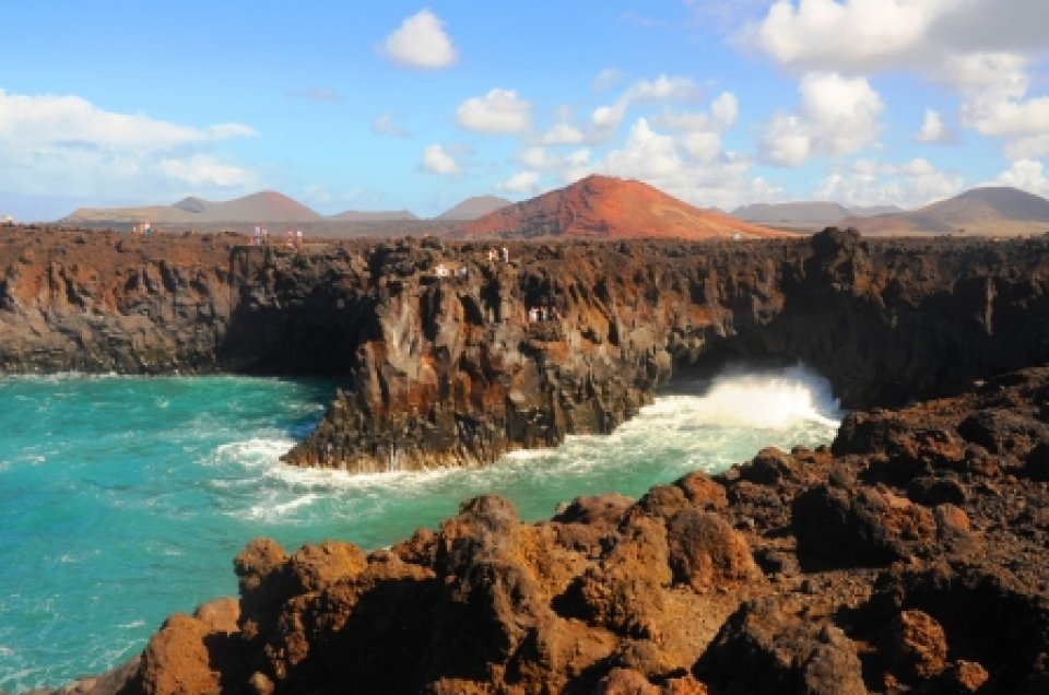 Lanzarote cliffs