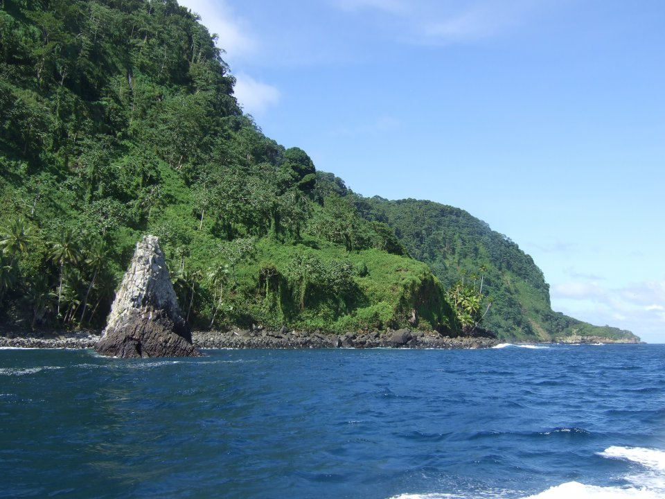 North Coast of Cocos Island