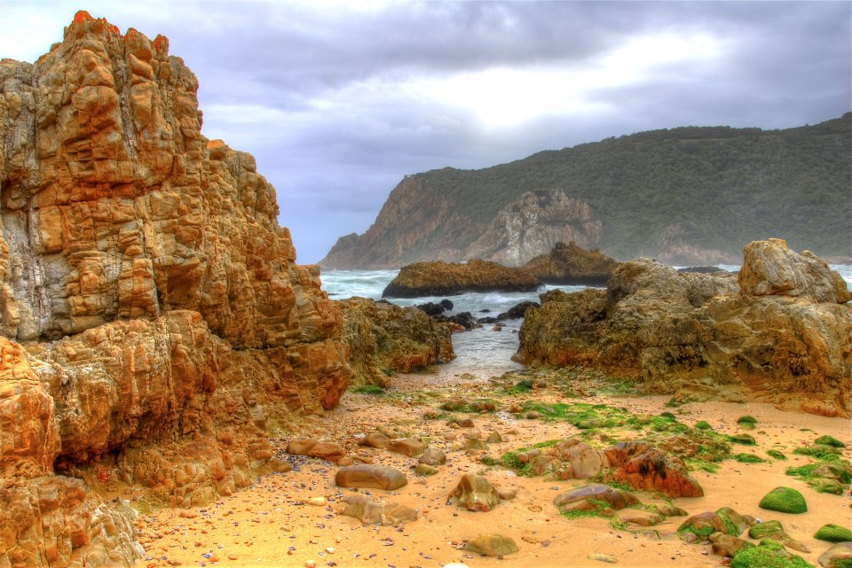 Knysna Heads Beach