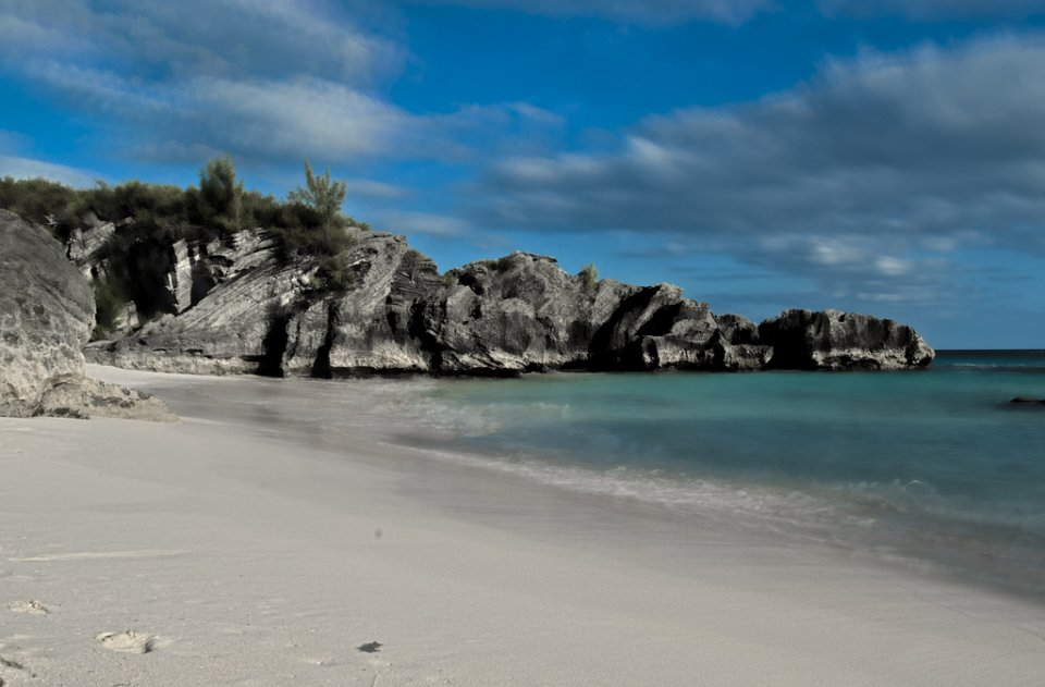 Beach in South Bermuda