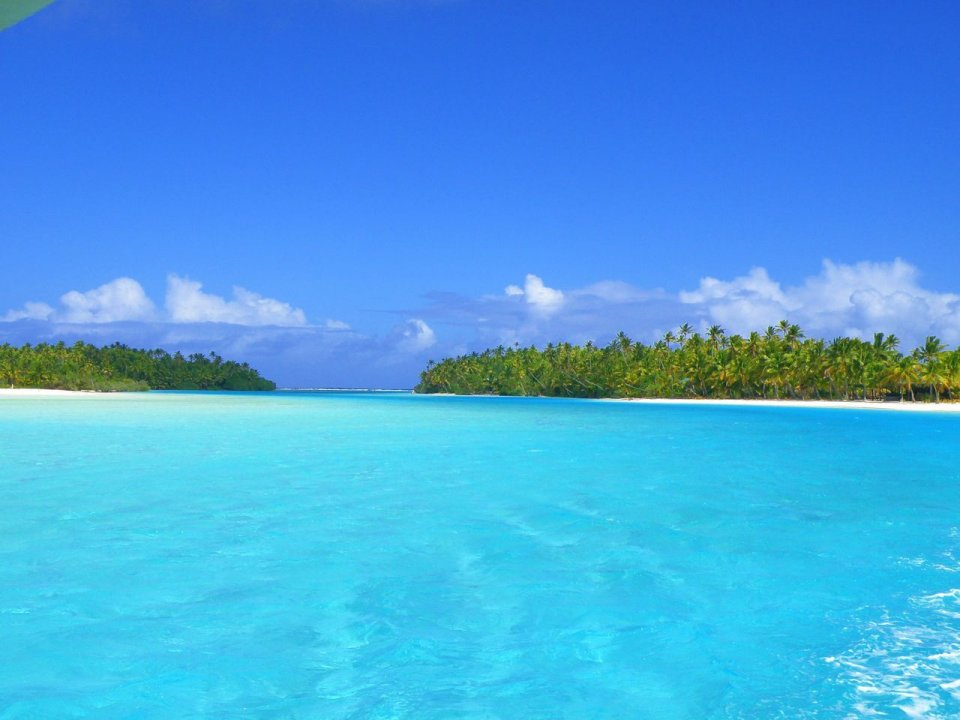 Aitutaki, Cook Islands, South Pacific Ocean