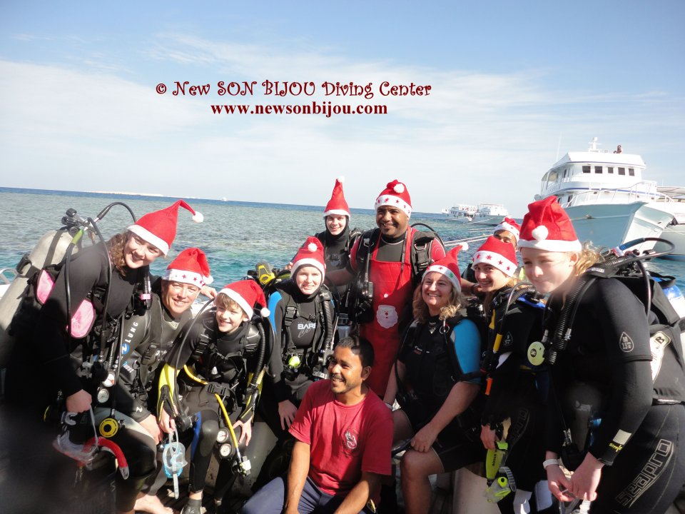 our traditional Christmas dive <3